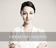 exhibition hostess, trade Show Staff, trade show hostesses